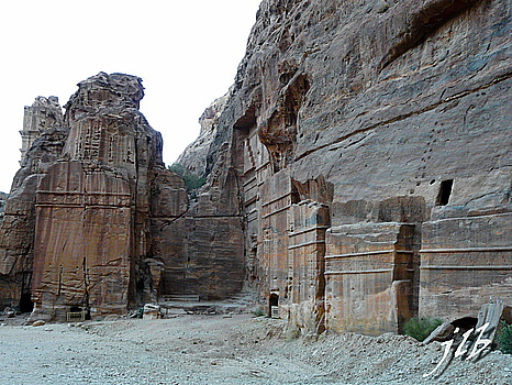 Tombes royales - Petra -3