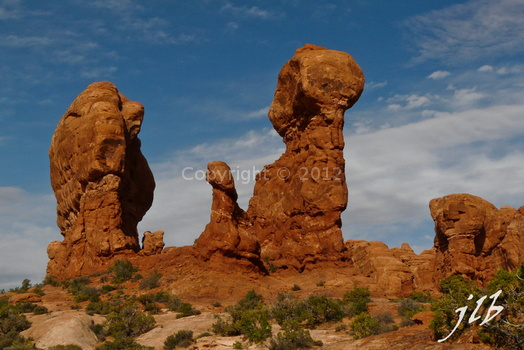 Arches sunset-15