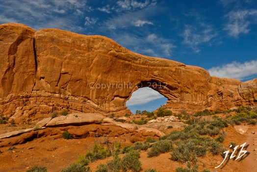 Arches sunset-24