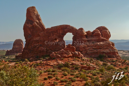 Arches sunset-32
