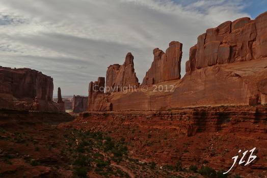Arches sunset-4