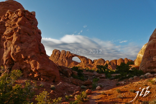 Arches sunset-46