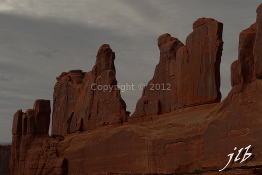 Arches sunset-6