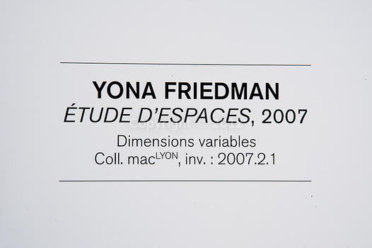 """Yona Friedman"" à Jonage"