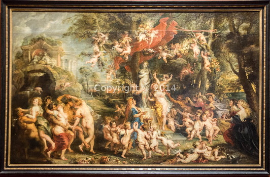 Peter Paul Rubens - The feast of Venus-3