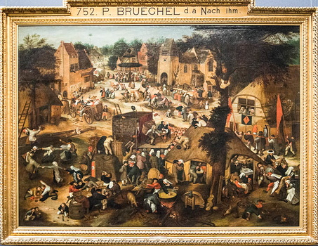 Pieter Bruegel - Country fair