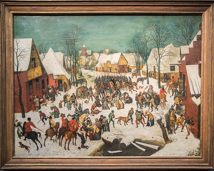 Pieter Bruegel - Le massacre des innocents