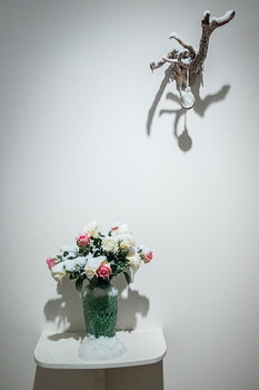 Laurent PERNOT - Nature morte et Le Temps givré-3