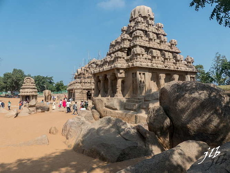 FIVE RATHAS à MAMALIPURAM-24