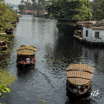 Le GRAND CANAL  - ALLEPPEY -1