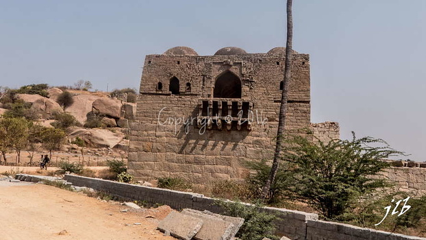 MOHAMMADAN WHATCH TOWER - HAMPI-5