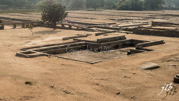 BASEMENT OF KING'S PALACE- HAMPI-5