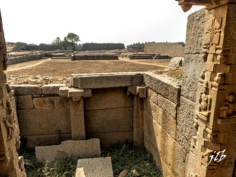 BASEMENT OF KING'S PALACE- HAMPI-6