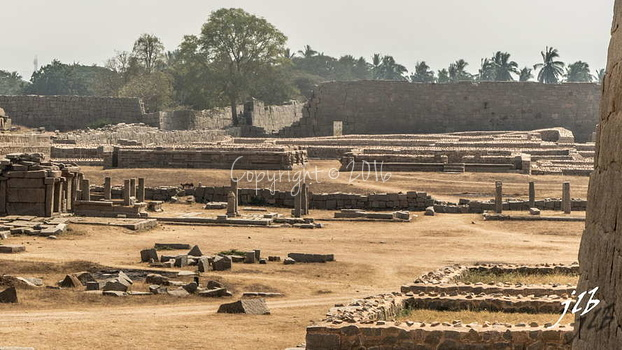 BASEMENT OF QUEEN'S PALACE- HAMPI-1