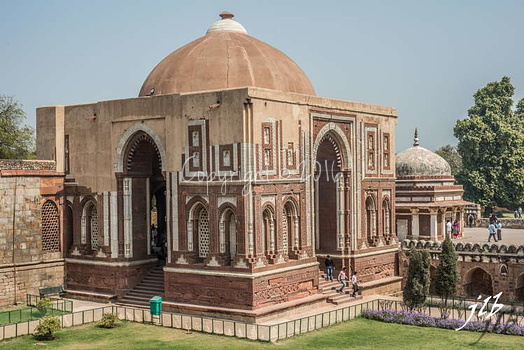 TOMB OF IMAN ZAMIN - QUTB COMPLEX - NEW DELHI-4