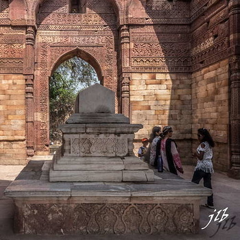 TOMB OF ULTUTMISH - QUTB COMPLEX - NEW DELHI-1