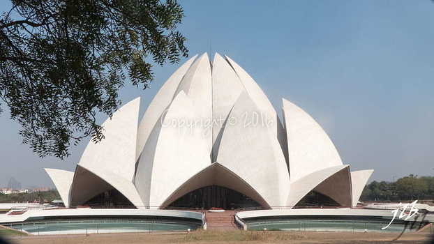 BAHA'I HOUSE OF WORSHIP - NEW DELHI-1