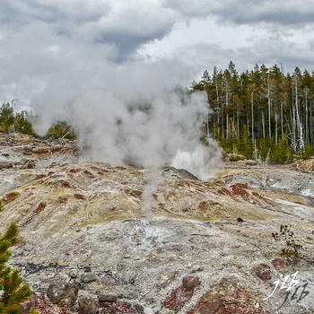 Lower geyser basin-6