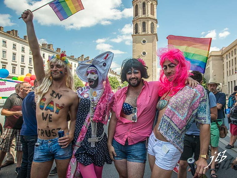 Gay Pride 2015 à Lyon-Portraits-41